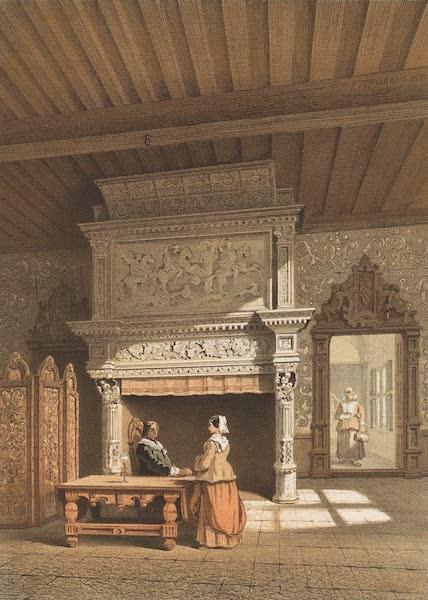 Monuments d'Architecture et de Sculpture en Belgique Vol. 2 - Interieur d'une Maison a Malines (1860)