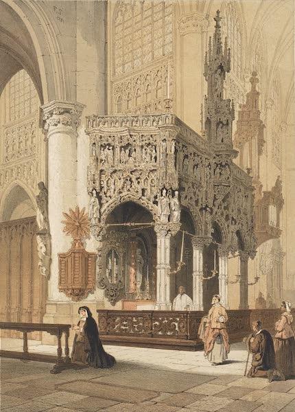 Monuments d'Architecture et de Sculpture en Belgique Vol. 2 - Jube de l'Eglise St. Gommaire a Lierre (1860)