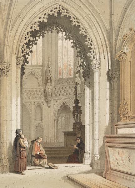 Monuments d'Architecture et de Sculpture en Belgique Vol. 2 - Chapelle dans l'Eglise St. Jacques a Liege (1860)