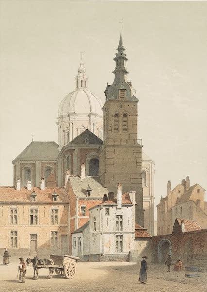 Monuments d'Architecture et de Sculpture en Belgique Vol. 2 - Eglise de St. Aubin a Namur (1860)