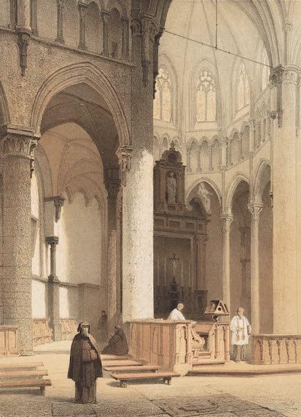 Monuments d'Architecture et de Sculpture en Belgique Vol. 2 - Interieur de l'Eglise Notre-Dame a Dinant (1860)