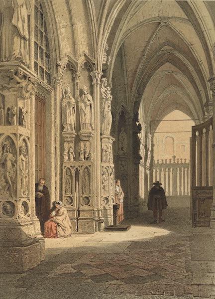Monuments d'Architecture et de Sculpture en Belgique Vol. 2 - Portail de la Cathedrale de Tournay (1860)