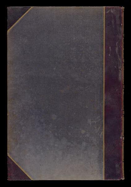 Monuments d'Architecture et de Sculpture en Belgique Vol. 2 - Back Cover (1860)