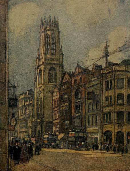 More Wanderings in London - St. Dunstan's-in-the-West, Fleet Street (1916)