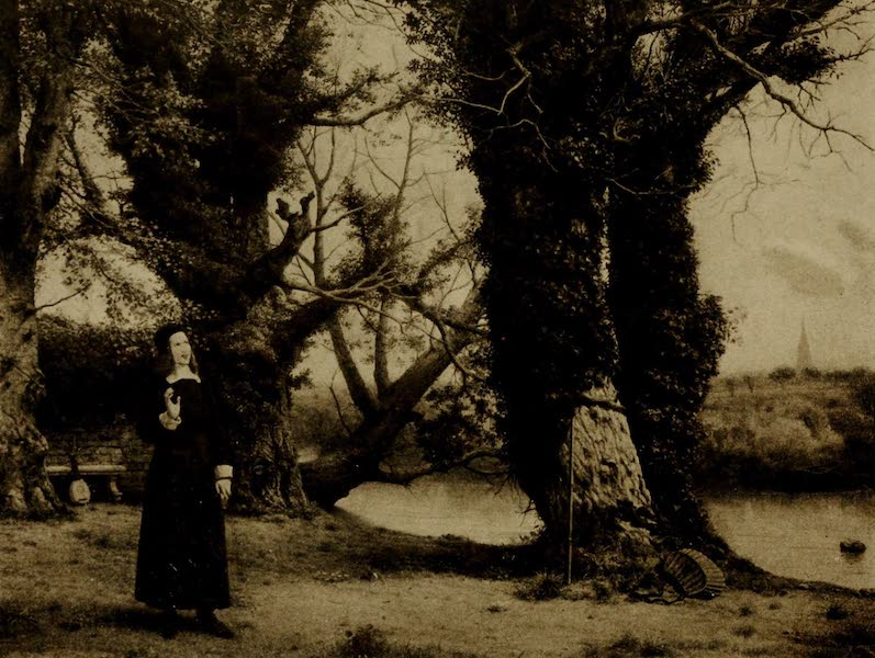 More Wanderings in London - George Herbert at Bemerton. W. Dyce (Guildhall) (1916)