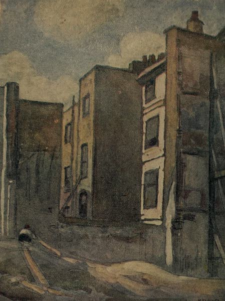 More Wanderings in London - A Typical London Demolition Scene (1916)