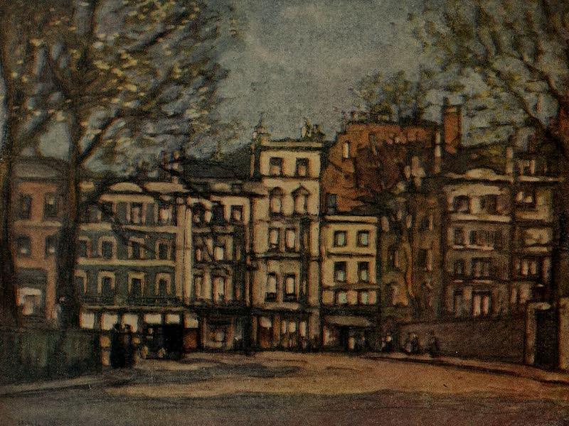 More Wanderings in London - Berkeley Square, East Side (1916)