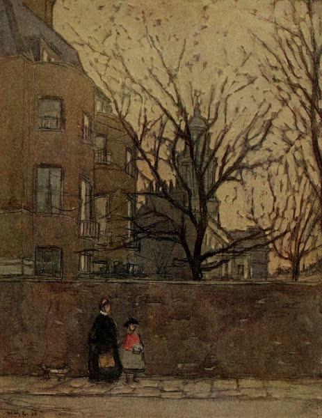 More Wanderings in London - Dickens' House, Devonshire Terrace (1916)