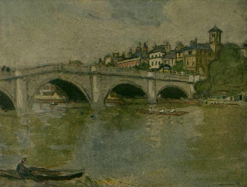 More Wanderings in London - Richmond Bridge (1916)