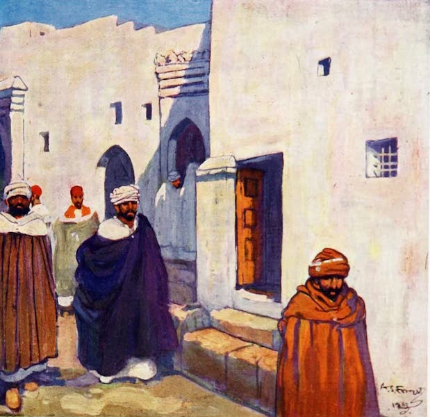 Morocco, Painted and Described - A Street, Tangier (1904)