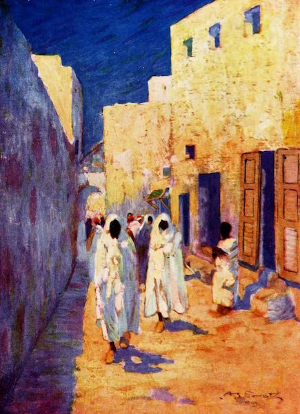 Morocco, Painted and Described - In Tangier (1904)