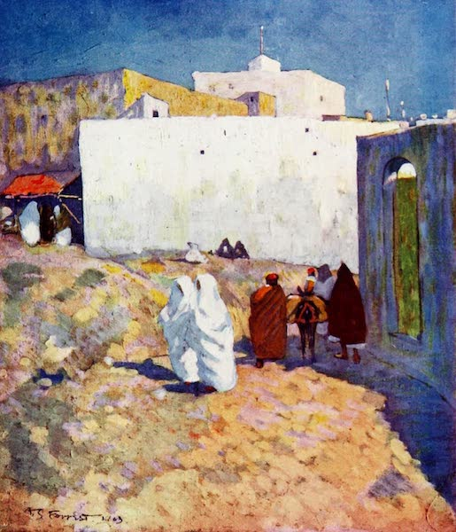 Morocco, Painted and Described - Old Buildings, Tangier (1904)