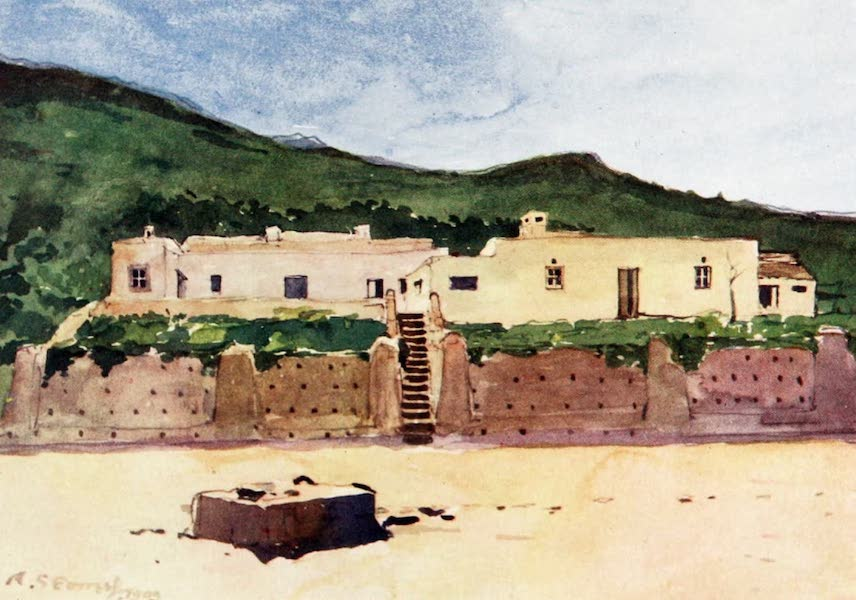 Morocco, Painted and Described - Moorish House, Cape Spartel (1904)