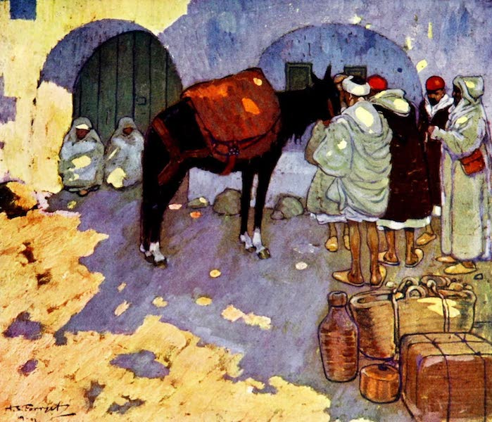 Morocco, Painted and Described - A Blacksmith's Shop (1904)