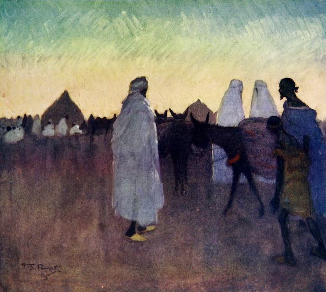 Morocco, Painted and Described - Evening on the Plains (1904)