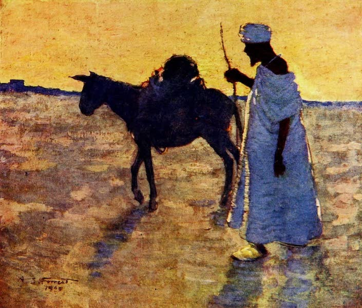 Morocco, Painted and Described - A Traveller on the Plains (1904)