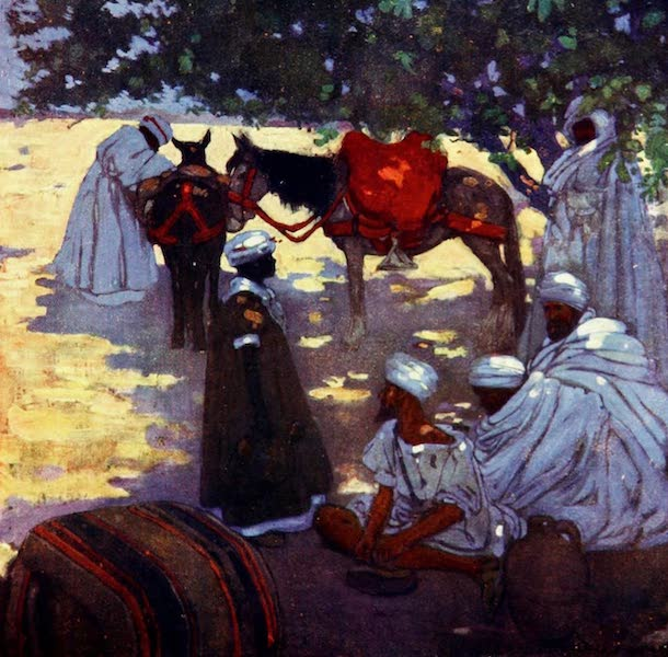 Morocco, Painted and Described - The Mid-day Halt (1904)