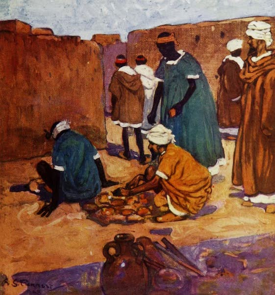 Morocco, Painted and Described - A Brickfield, Marrakesh (1904)