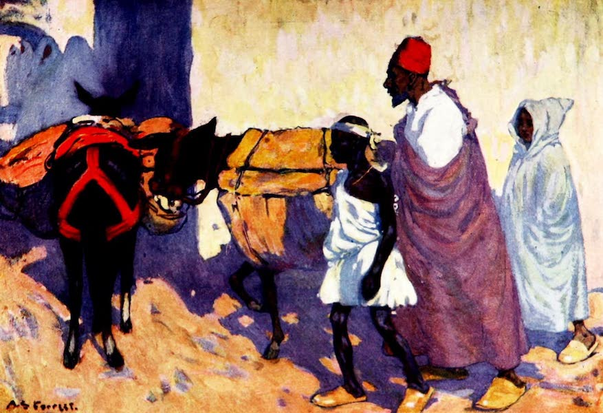 Morocco, Painted and Described - On the Road to the Sok el Abeed (1904)