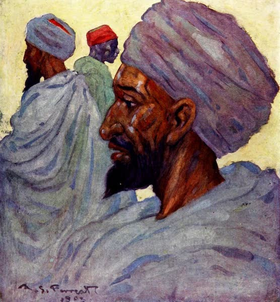 Morocco, Painted and Described - Dilals in the Slave Market (1904)