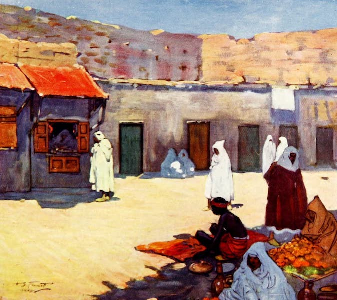 Morocco, Painted and Described - The Jama'a Effina (1904)