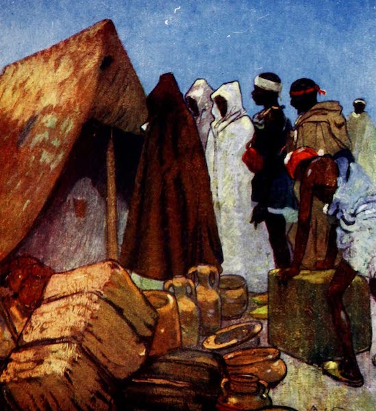 Morocco, Painted and Described - Evening in Camp (1904)