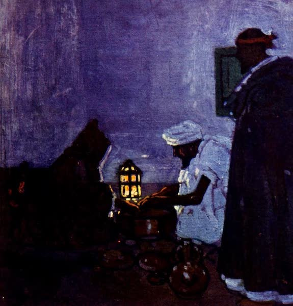 Morocco, Painted and Described - Preparing Supper (1904)