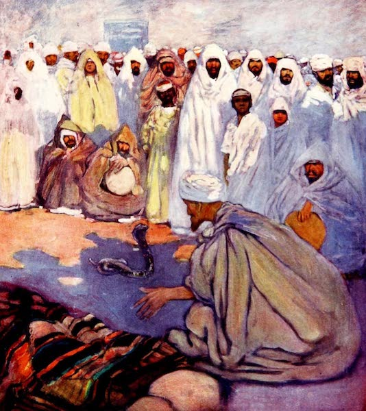 Morocco, Painted and Described - The Snake Charmer (1904)