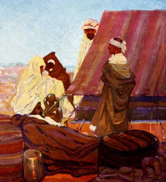Morocco, Painted and Described - In Camp (1904)