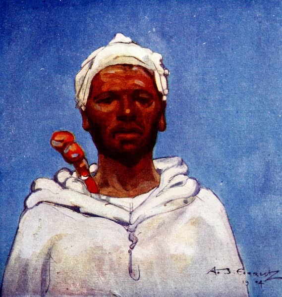 Morocco, Painted and Described - A Countryman (1904)