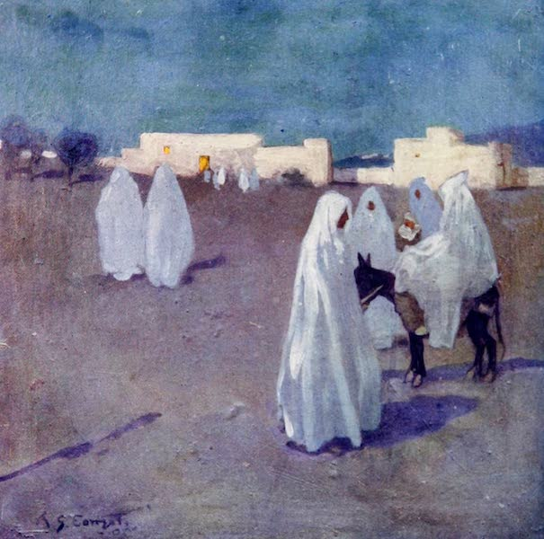Morocco, Painted and Described - Moonlight (1904)