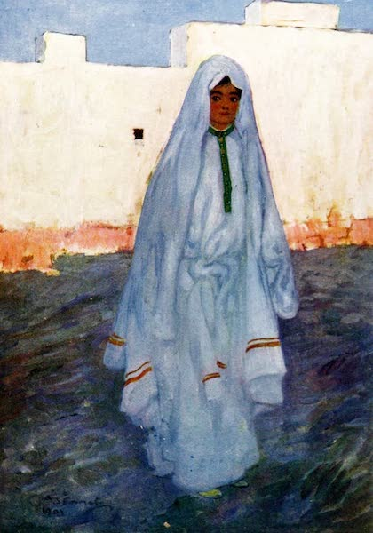 Morocco, Painted and Described - A Moorish Girl (1904)