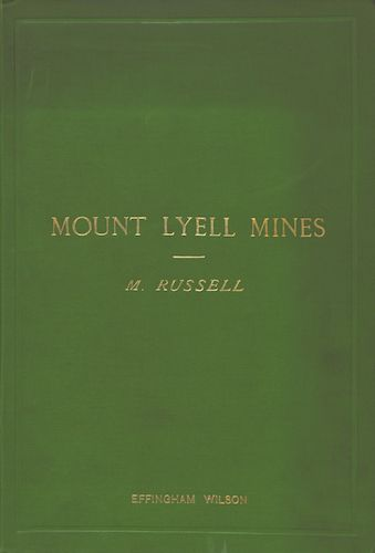 Geology - Mount Lyell Mines, Tasmania Vol. 1