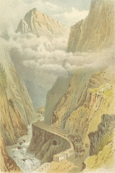 Mountains and Lakes of Switzerland and Italy - Dazio Grande (1871)