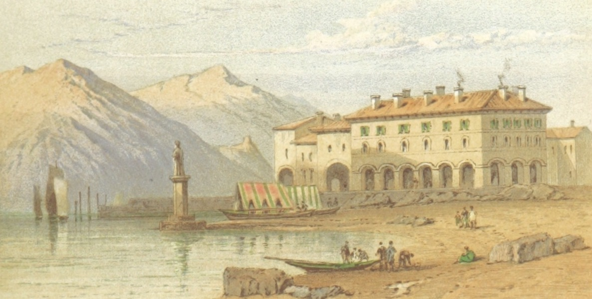 Mountains and Lakes of Switzerland and Italy - Pallanza (1871)