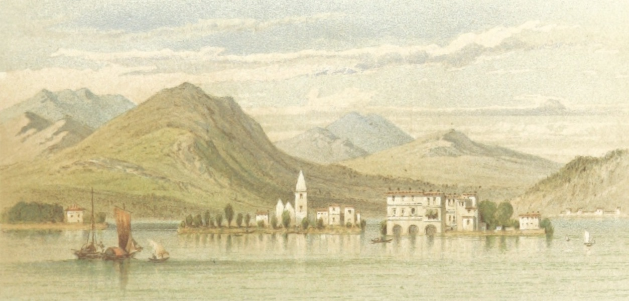 Mountains and Lakes of Switzerland and Italy - The Borromean Islands (1871)