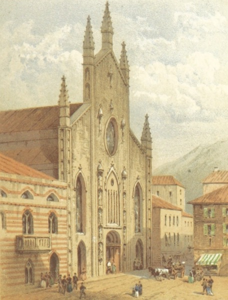 Mountains and Lakes of Switzerland and Italy - Como Cathedral (1871)