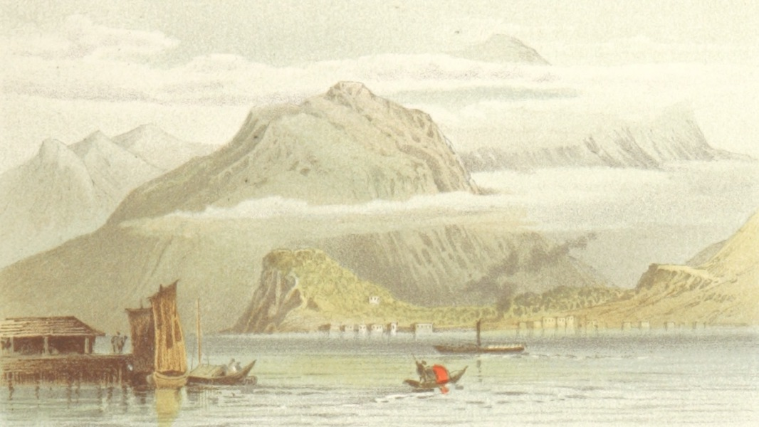 Mountains and Lakes of Switzerland and Italy - Bellaggio (1871)