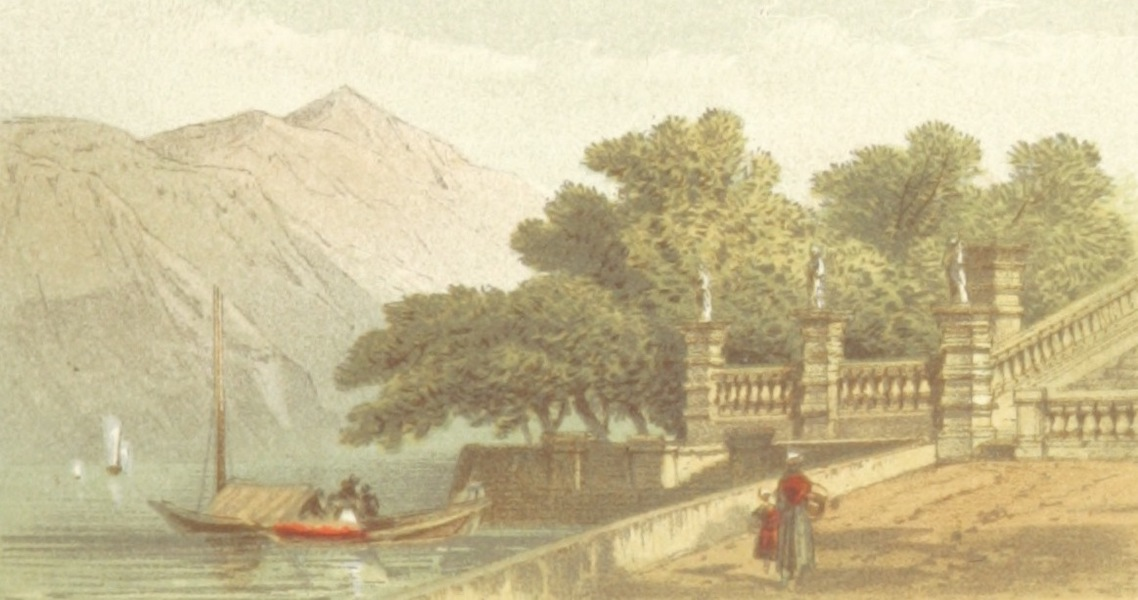 Mountains and Lakes of Switzerland and Italy - Villa Carlotta (1871)