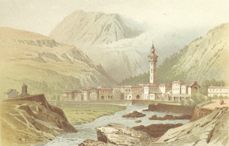 Mountains and Lakes of Switzerland and Italy - Chiavenna (1871)