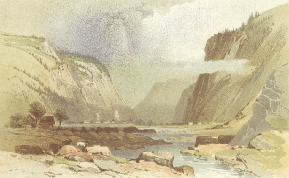 Mountains and Lakes of Switzerland and Italy - Campo Dolcino (1871)