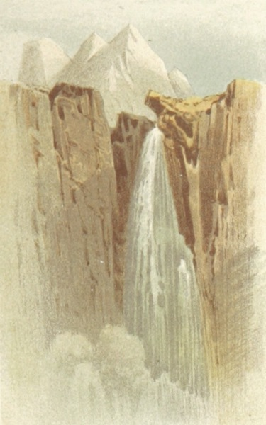 Mountains and Lakes of Switzerland and Italy - Falls of the Madesimo (1871)
