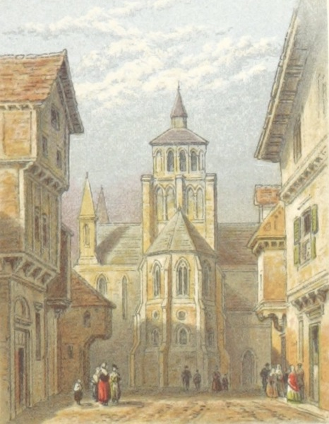 Mountains and Lakes of Switzerland and Italy - Notre Dame, Dijon (1871)