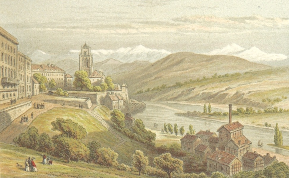 Mountains and Lakes of Switzerland and Italy - Berne (1871)
