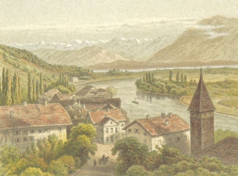 Mountains and Lakes of Switzerland and Italy - Thun (1871)