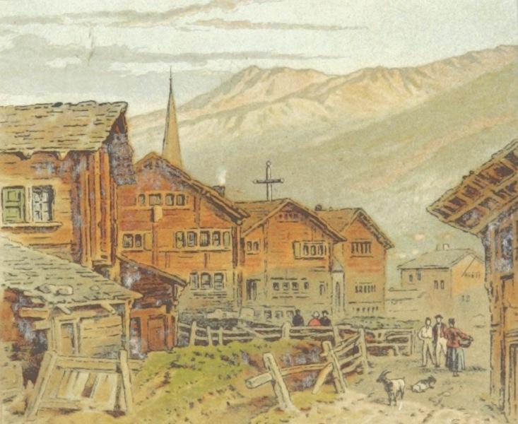 Mountains and Lakes of Switzerland and Italy - Zermatt (1871)