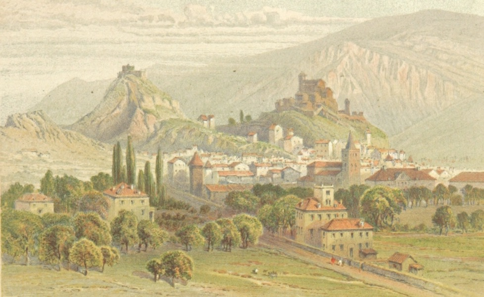 Mountains and Lakes of Switzerland and Italy - Sion (1871)