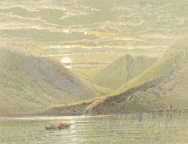 Mountains and Lakes of Switzerland and Italy - On the Lake of Geneva (1871)