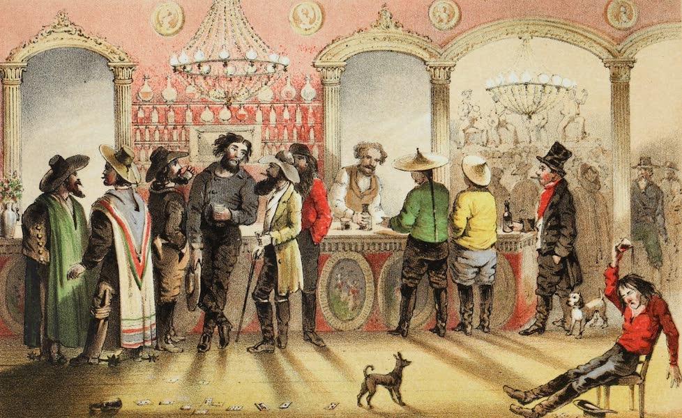 Mountains and Molehills - The Bar of a Gambling Saloon (1855)
