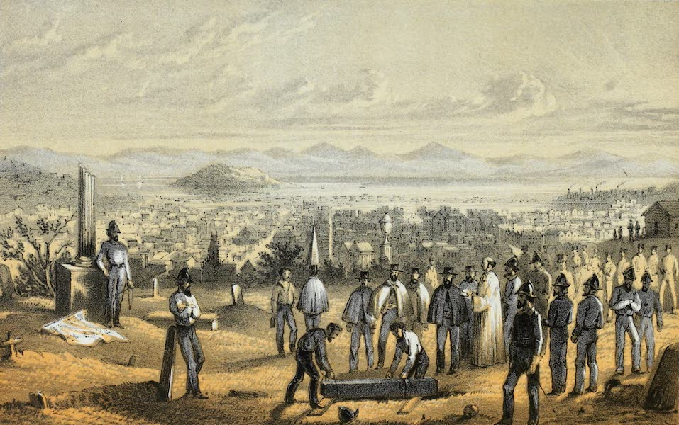 Mountains and Molehills - A Fireman's Funeral (1855)
